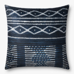 Navy 3 Ft. x 3 Ft. Throw Pillow Cover
