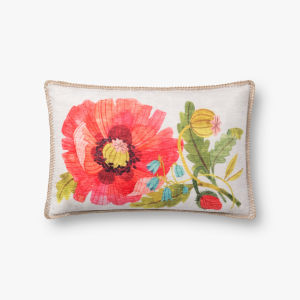 Multicolor 13 In. x 21 In. Throw Pillow Cover