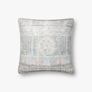 Blue Multicolor 18 In. x 18 In. Throw Pillow Cover