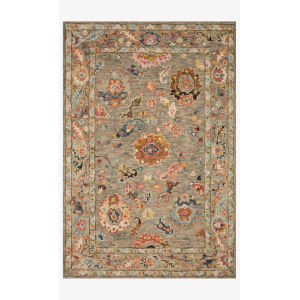 Padma Multicolor Rectangle: 7 Ft. 9 In. x 9 Ft. 9 In. Rug
