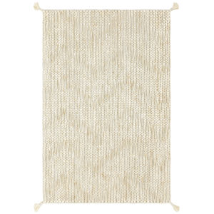 Playa Light Gray and Ivory 47-Inch Rug