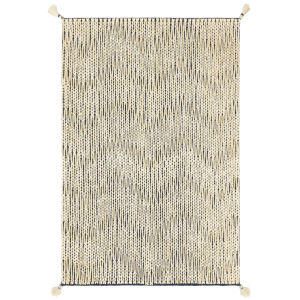 Playa Navy and Ivory 91-Inch Rug