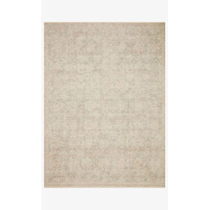 Priya Navy and Ivory Rectangle: 7 Ft. 9 In. x 9 Ft. 9 In. Rug