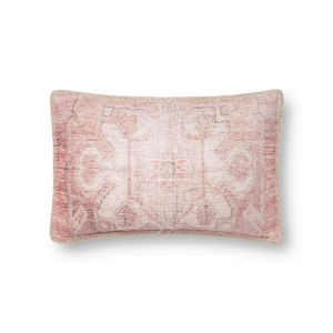 Pink 13In. x 21In. Pillow Cover with Poly Fill