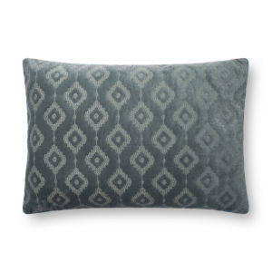 Azure 16In. x 26In. Pillow Cover with Poly Fill