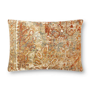 Multicolor 16In. x 26In. Pillow Cover with Poly Fill