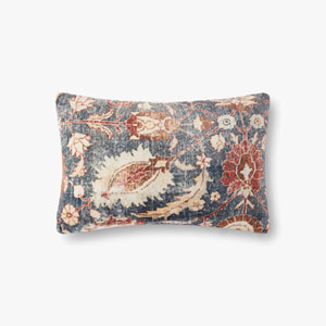 Multicolor Woven Flannel Printed Pillow