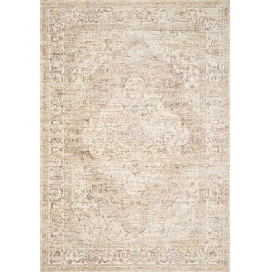 Revere Ivory with Berry Round: 7 Ft. 1 x 7 Ft. 1 Rug