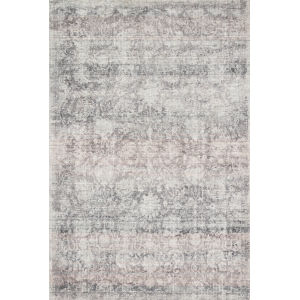 Rumi Pewter Rectangle: 3 Ft. 6 In. x 5 Ft. 6 In. Rug