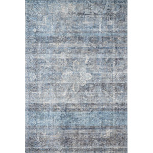Rumi Blue Rectangle: 3 Ft. 6 In. x 5 Ft. 6 In. Rug