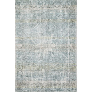 Rumi Teal Rectangle: 3 Ft. 6 In. x 5 Ft. 6 In. Rug