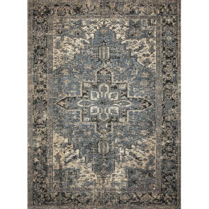 Sebastian Midnight Ocean Rectangular 3Ft. 11In. x 5Ft. 11In. Rug