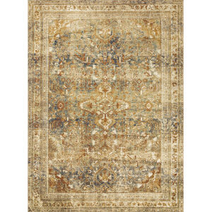 Sebastian Lagoon Spice Rectangular 7Ft. 10In. x 11Ft. 2In. Rug