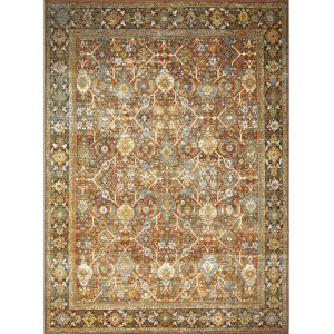 Sebastian Multicolor Rectangular 5Ft. 3In. x 7Ft. 8In. Rug