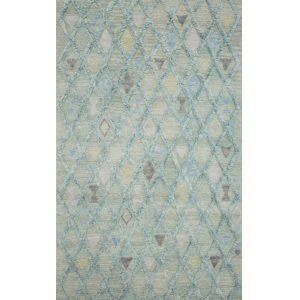 Symbology Seafoam Rectangle: 7 Ft. 9 In. x 9 Ft. 9 In. Rug