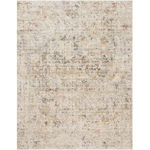 Theia Multicolor and Natural 24 x 43-Inch Power Loomed Rug