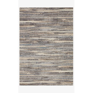Theory Mist and Beige Runner: 2 Ft. 7 In. x 10 Ft. 10 In.