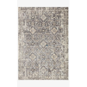 Theory Natural and Gray Runner: 2 Ft. 7 In. x 10 Ft. 10 In.