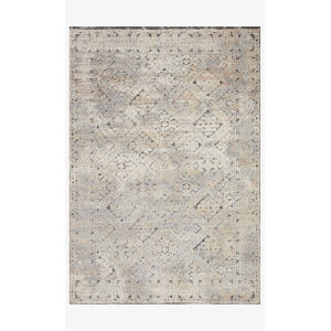 Theory Gray and Sand Runner: 2 Ft. 7 In. x 10 Ft. 10 In.