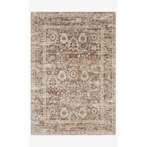 Theory Mocha and Natural Runner: 2 Ft. 7 In. x 10 Ft. 10 In.