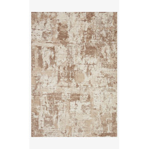 Theory Beige and Taupe Runner: 2 Ft. 7 In. x 10 Ft. 10 In.
