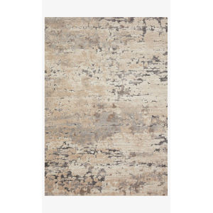 Theory Taupe and Gray Runner: 2 Ft. 7 In. x 10 Ft. 10 In.