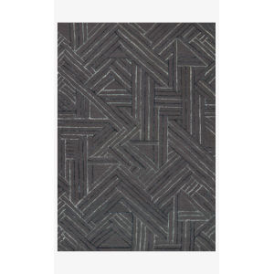Verve Graphite and Ocean Rectangle: 5 Ft. x 7 Ft. 6 In. Rug