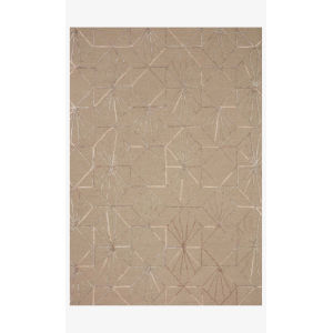 Verve Sand and Blush Rectangle: 7 Ft. 9 In. x 9 Ft. 9 In. Rug