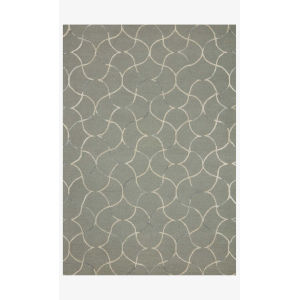 Verve Sage and Silver Rectangle: 5 Ft. x 7 Ft. 6 In. Rug