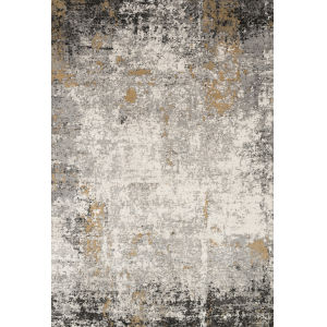 Alchemy Granite and Gold 6 Ft. 7 In. x 9 Ft. 2 In. Rectangular Rug
