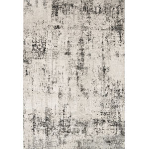 Alchemy Silver and Graphite 2 Ft. 8 In. x 4 In. Rectangular Rug