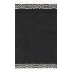 Aries Charcoal Square: 1 Ft. 6 In. x 1 Ft. 6 In. Rug