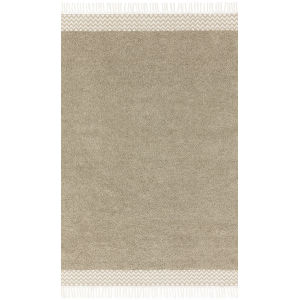 Aries Oatmeal Rectangular: 7 Ft. 9 In. x 9 Ft. 9 In. Rug