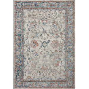 Bianca Dove and Gray 7 Ft. 11 In. x 10 Ft. 6 In. Area Rug