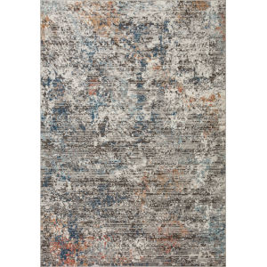 Bianca Granite, Spice and Blue 9 Ft. 9 In. x 13 Ft. 6 In. Area Rug