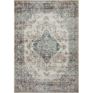 Bianca Ivory and Ocean 7 Ft. 11 In. x 10 Ft. 6 In. Area Rug