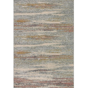 Bowery Pebble Multicolor Rectangular: 6 Ft. 7 In. x 9 Ft. 7 In. Rug