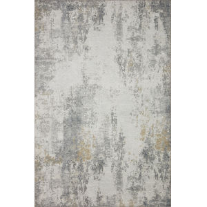 Drift Ivory Granite Rectangular: 2 Ft. 6 In. x 9 Ft. 6 In. Rug