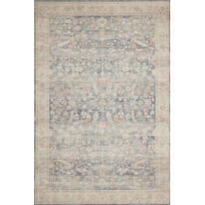 Hathaway Denim Multicolor Rectangular: 3 Ft. 6 In. x 5 Ft. 6 In. Rug
