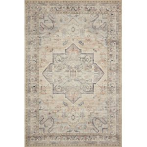 Hathaway Multicolor Ivory Rectangular: 3 Ft. 6 In. x 5 Ft. 6 In. Rug