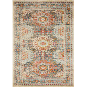 Jocelyn Mist Multicolor Rectangular: 7 Ft. 10 In. x 10 Ft. Rug