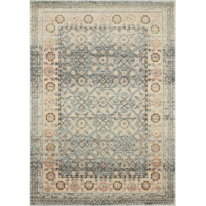 Jocelyn Sky Multicolor Rectangular: 6 Ft. 7 In. x 9 Ft. 7 In. Rug