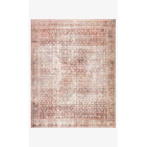 Layla Cinnamon and Sage Rectangular: 2 Ft. 6 In. x 9 Ft. 6 In. Area Rug