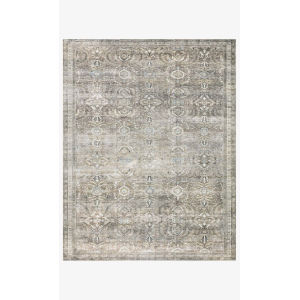 Layla Antique and Moss Rectangular: 2 Ft. 6 In. x 9 Ft. 6 In. Area Rug