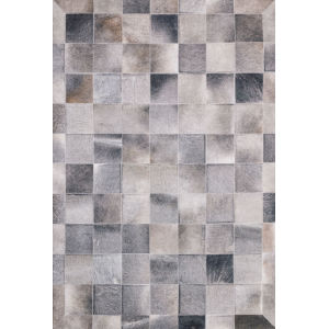 Maddox Charcoal Gray Rectangular: 7 Ft. 6 In. x 9 Ft. 6 In. Rug