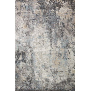Maeve Silver and Slate 6 Ft. 7 In. x 9 Ft. 10 In. Area Rug