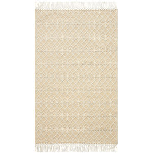 Noelle Ivory and Gold 9 Ft. x 12 Ft. Area Rug