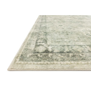 Rosette Steel Graphite Rectangular: 3 Ft. 3 In. x 5 Ft. 3 In. Rug