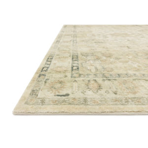 Rosette Sand Ivory Rectangular: 7 Ft. 6 In. x 9 Ft. 6 In. Rug