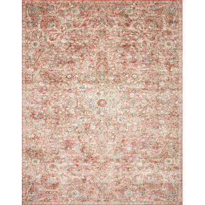 Saban Rust Beige Rectangular: 7 Ft. 1 In. x 10 Ft. Rug
